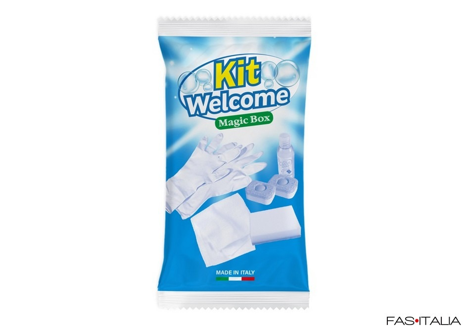 Kit pulizia welcome in flowpack