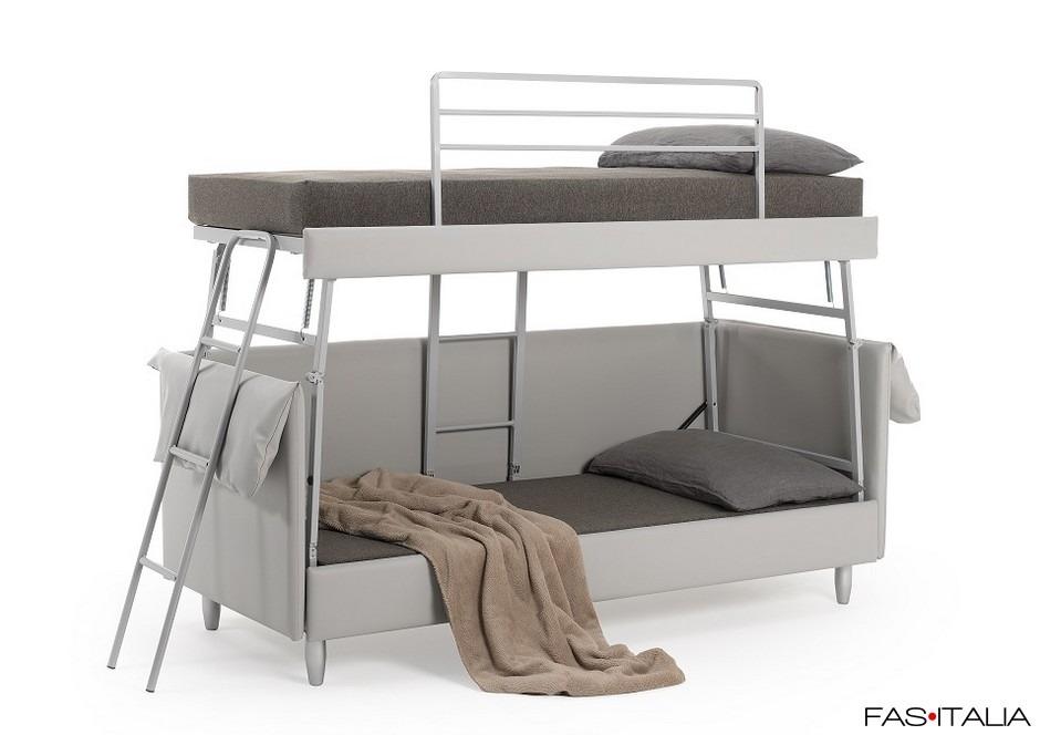Divano letto a castello con schienale fas italia - Schienale divano letto ...