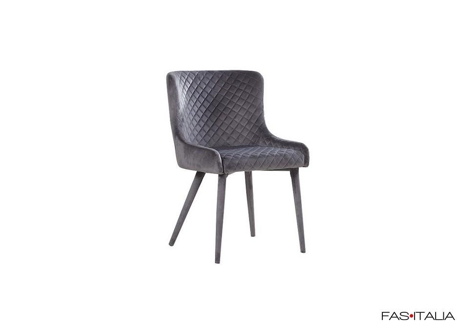Sedia in velluto/tessuto | Fas Italia